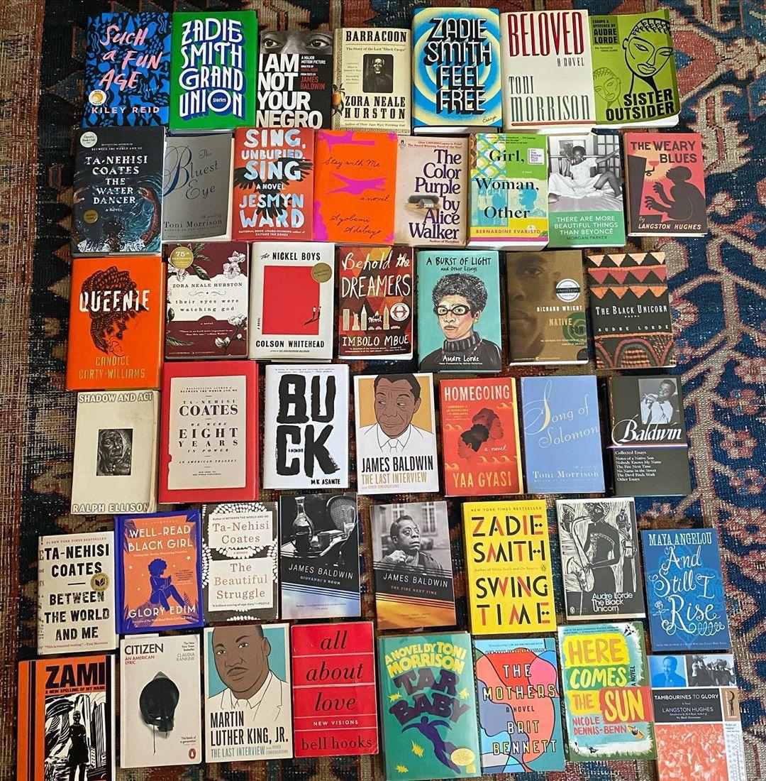 BIPOC black lives matter books