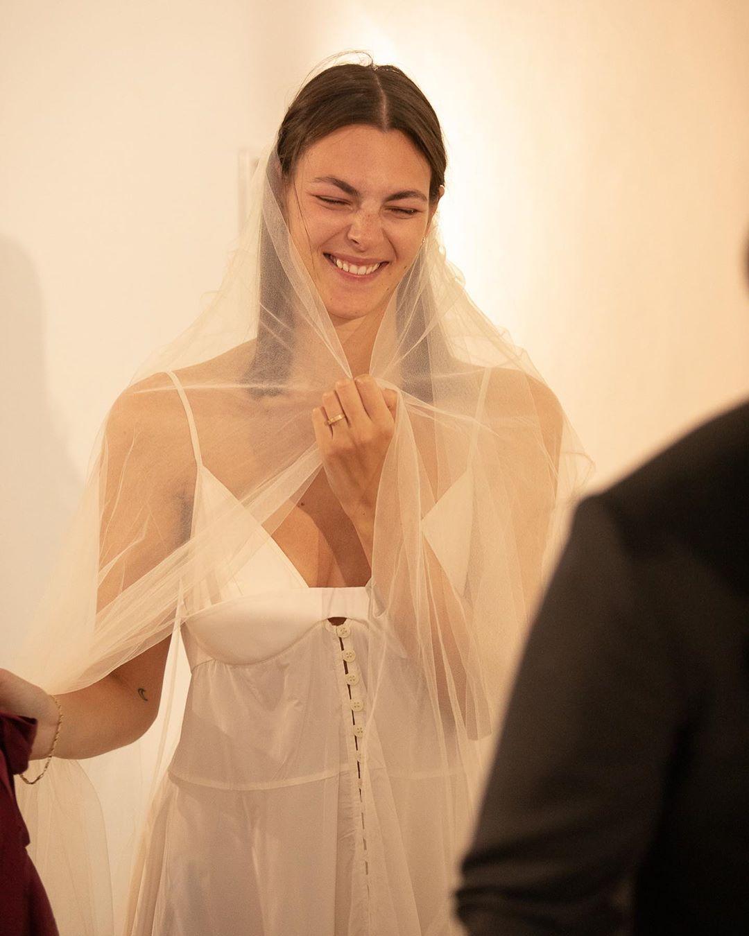 Vittoria Ceretti wedding