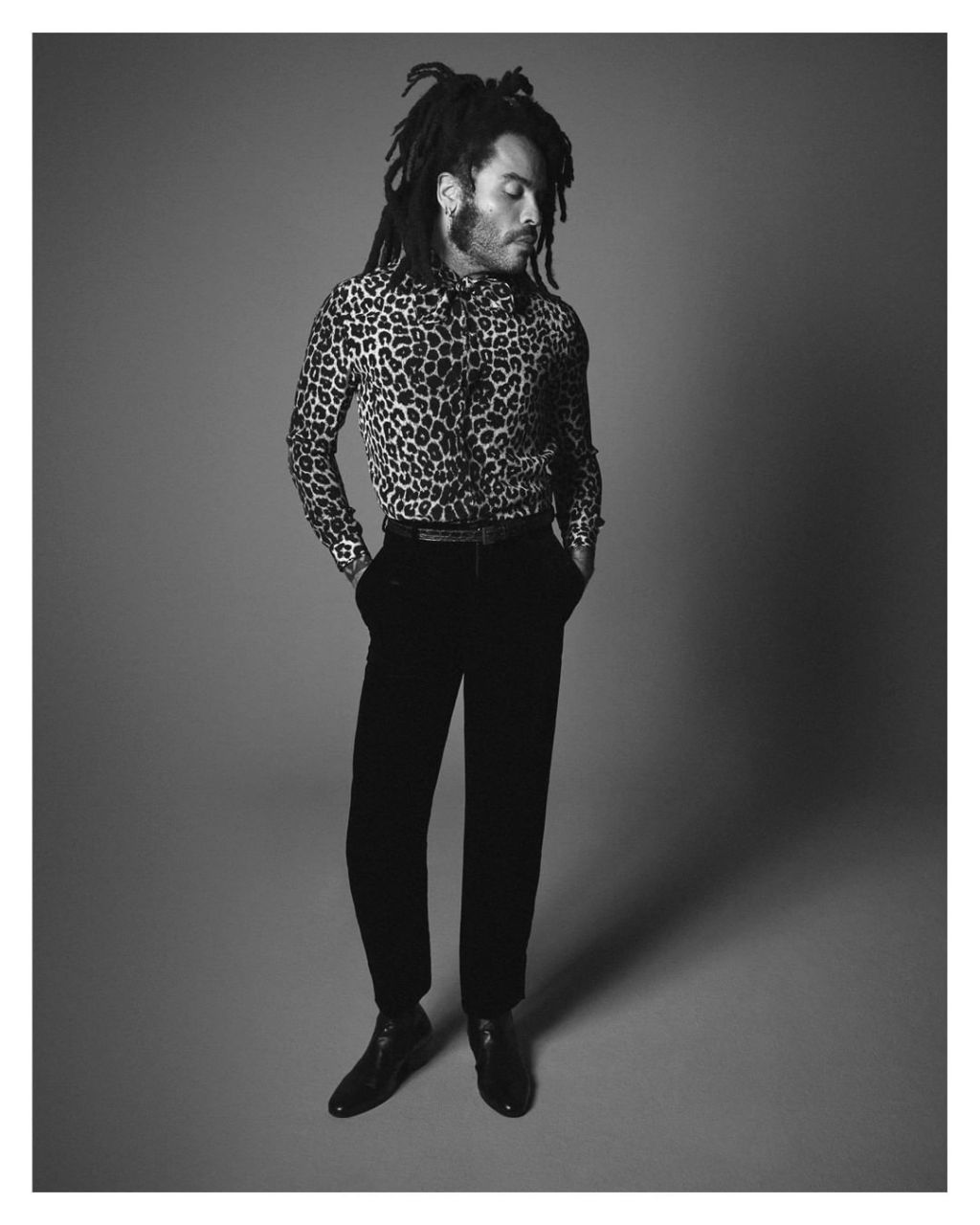 Lenny Kravitz for YSL Fall Winter 20 photographed by David Sims