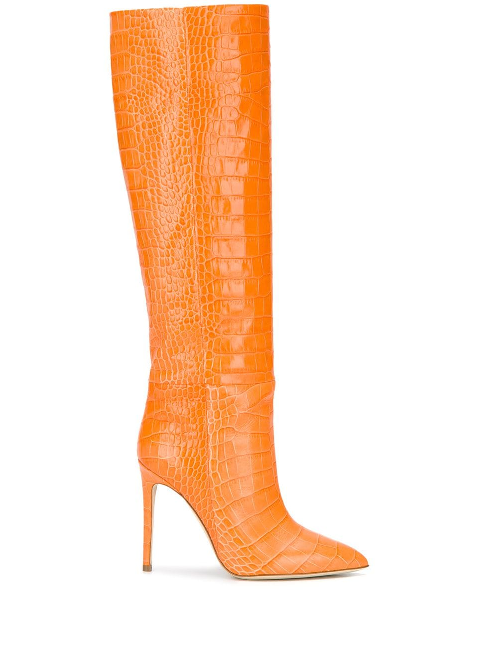 kylie jenner boot orange
