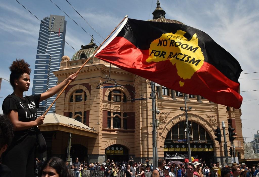 Black Lives Matter Protest Sydney