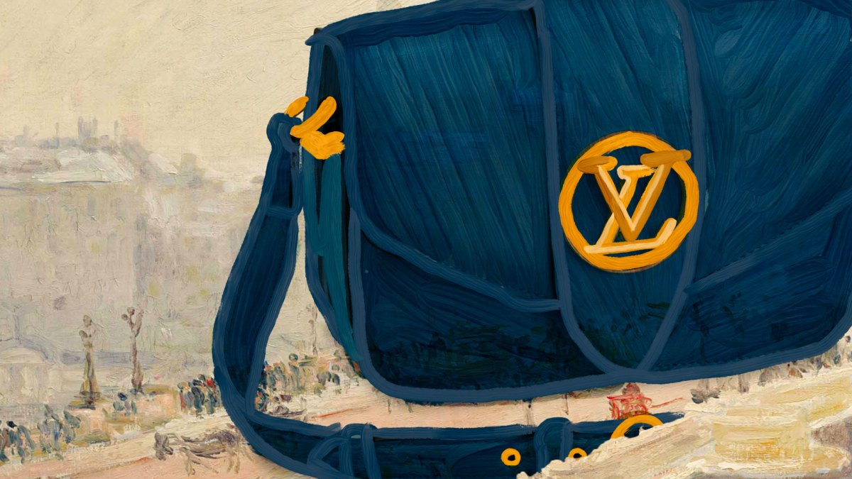 Work Of Art: Louis Vuitton's Pont 9 Bag Is A New Classic