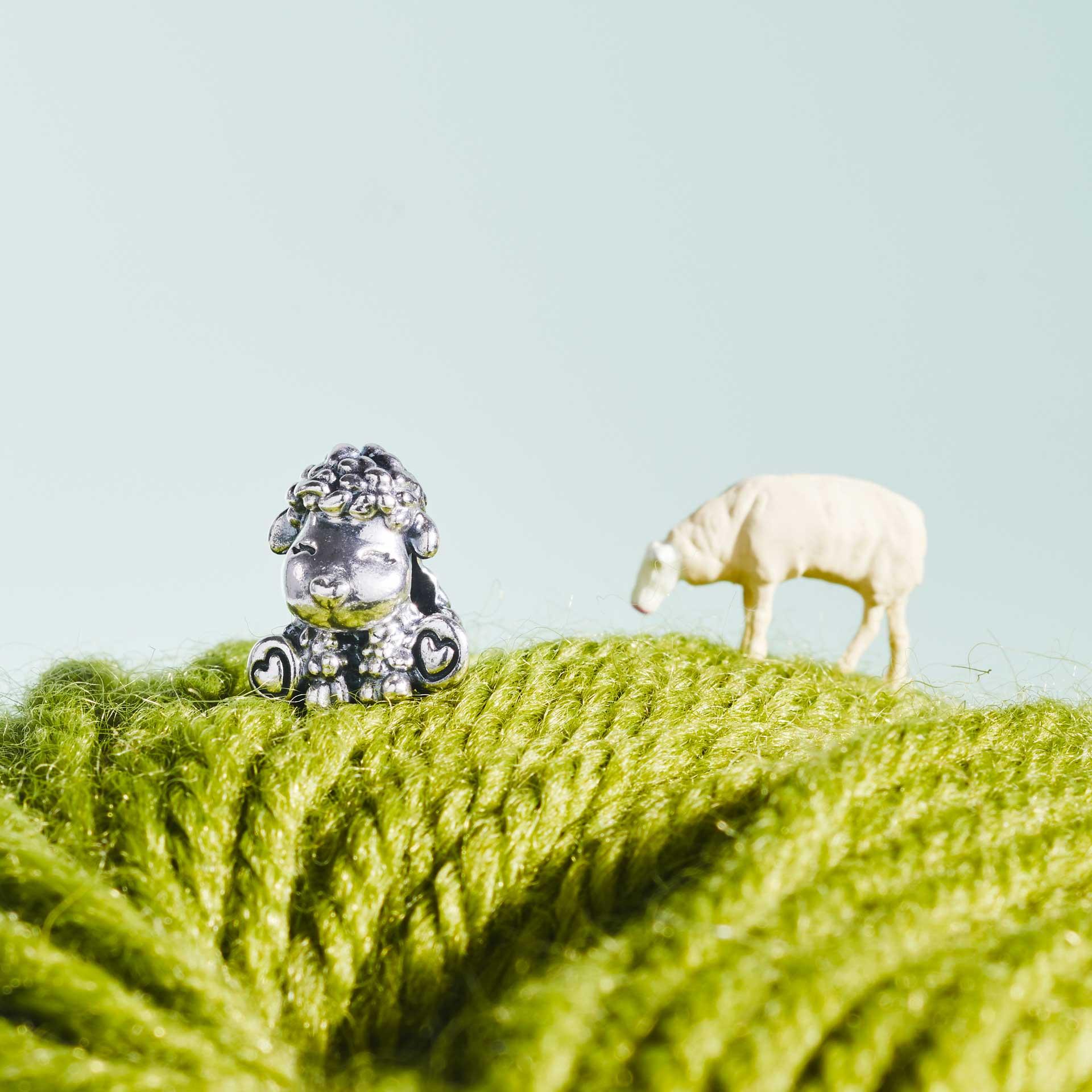 Pandora sheep charm