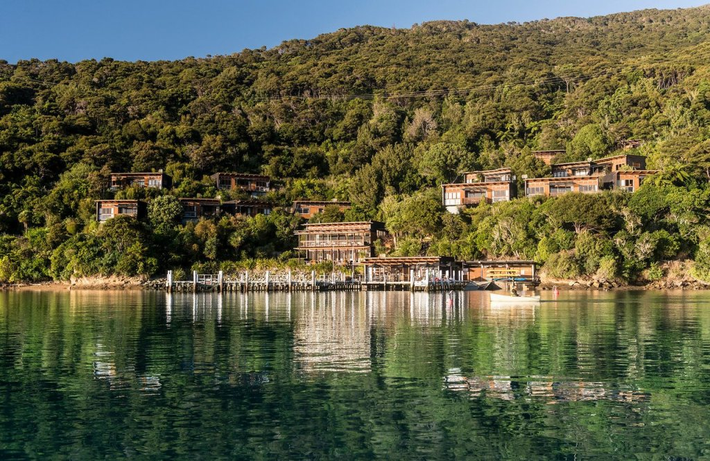 Bay Of Many Coves Resort in the nearby Marlborough Sounds