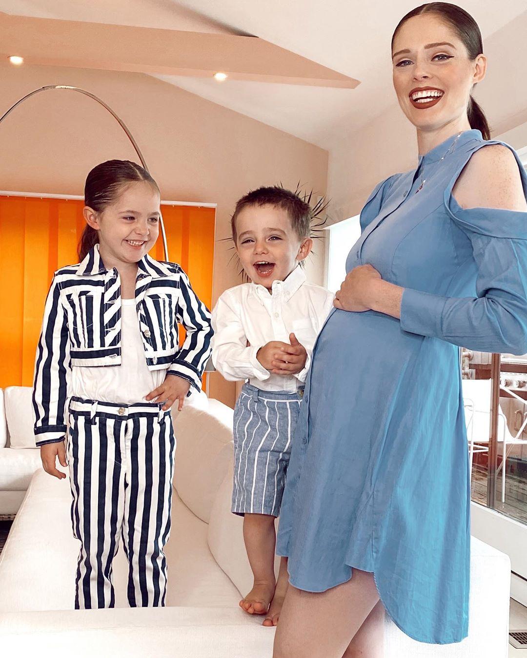 Coco Rocha pregnant