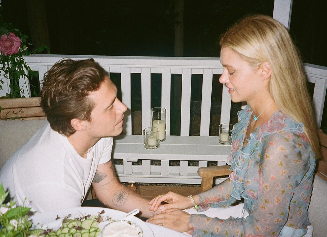 Brooklyn Beckham proposing