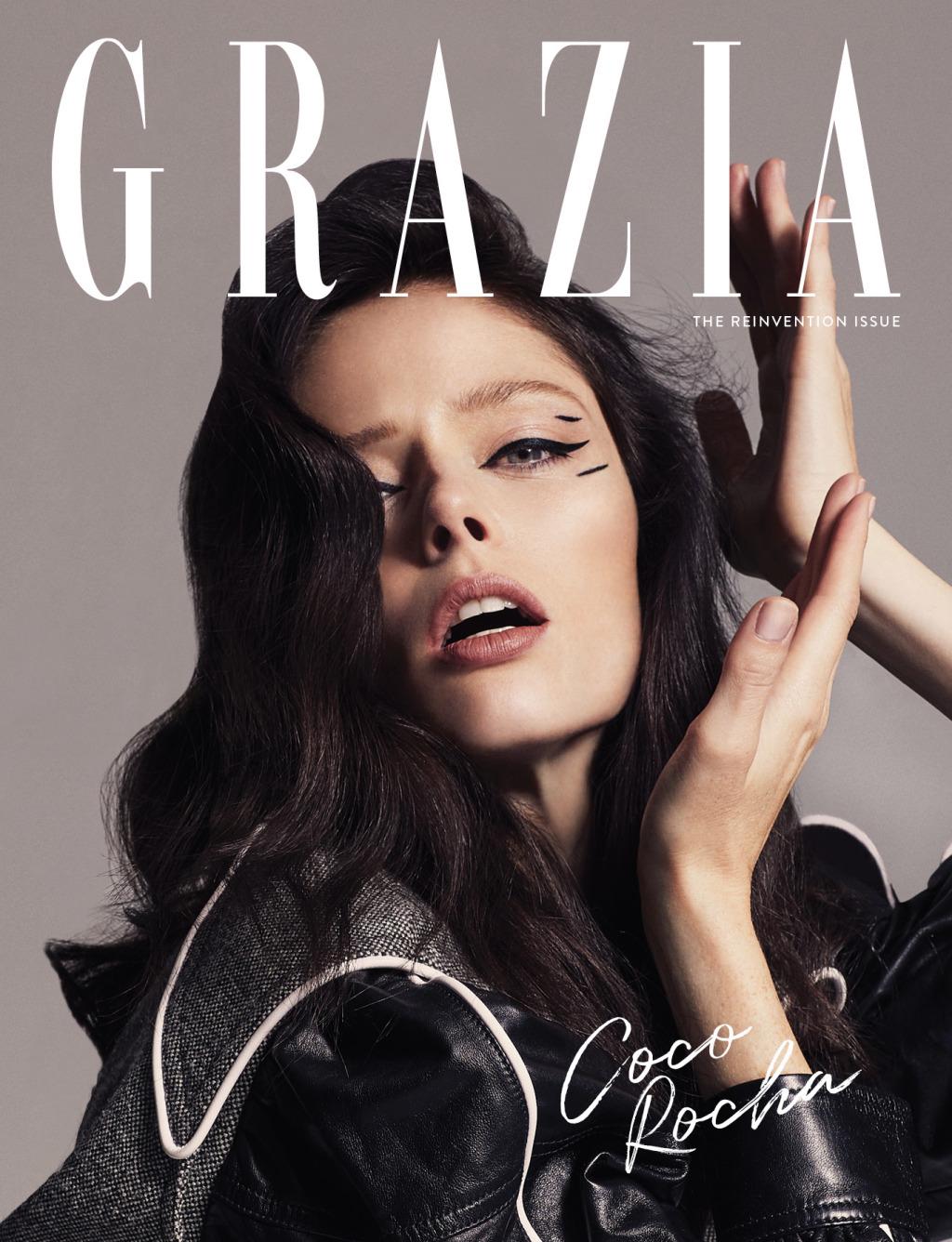 Coco Rocha GRAZIA cover