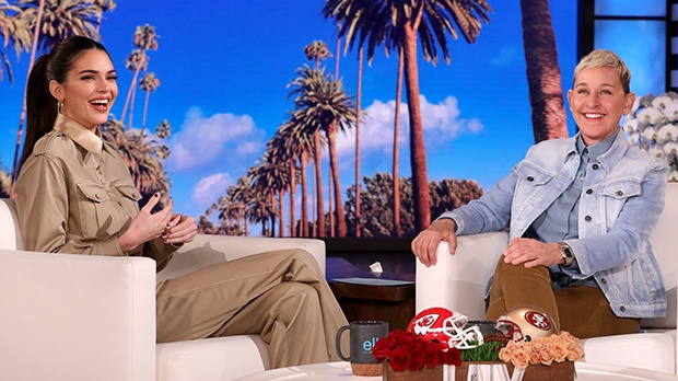 Kendall Jenner Ellen DeGeneres