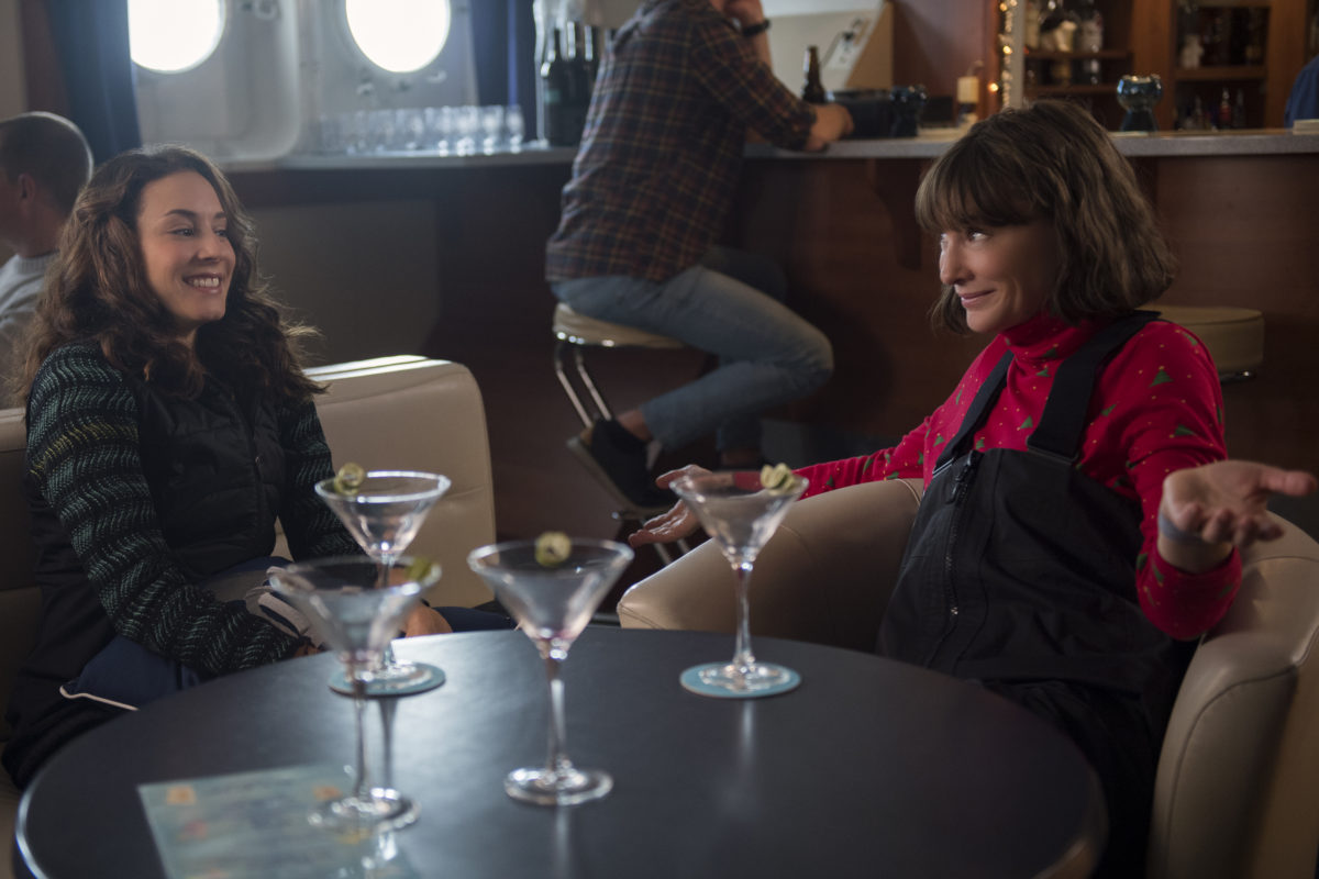 Troian Bellisario and Cate Blanchett