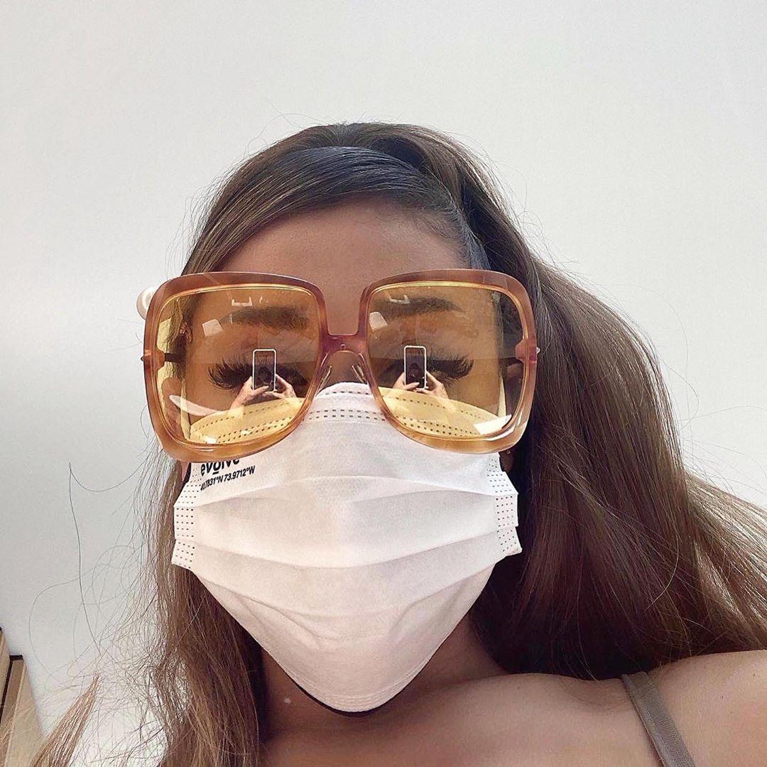 ariana grande dua lipa sunglasses