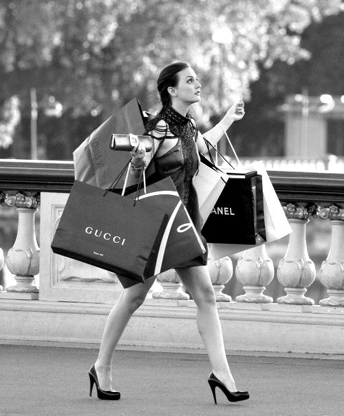 gossip girl blair shopping