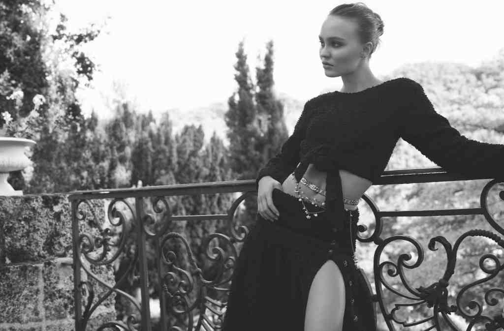 Chanel Cruise 2021 Lily-Rose Depp