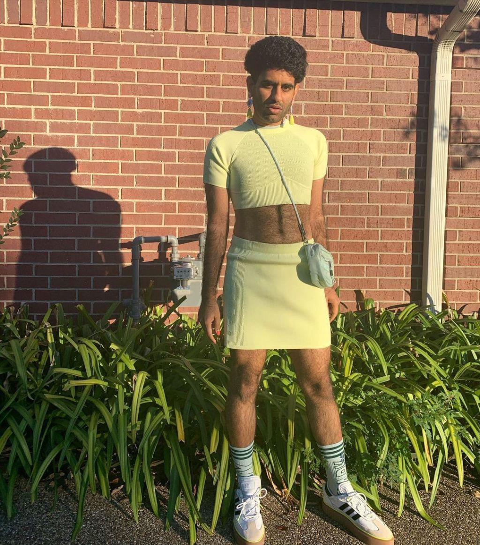 Dressing feminine men Gender Role