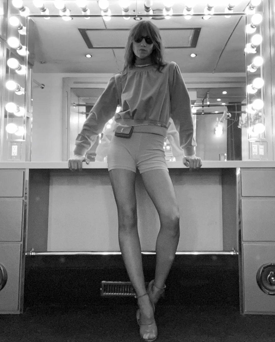 Charlotte Gainsbourg Saint Laurent Front Row
