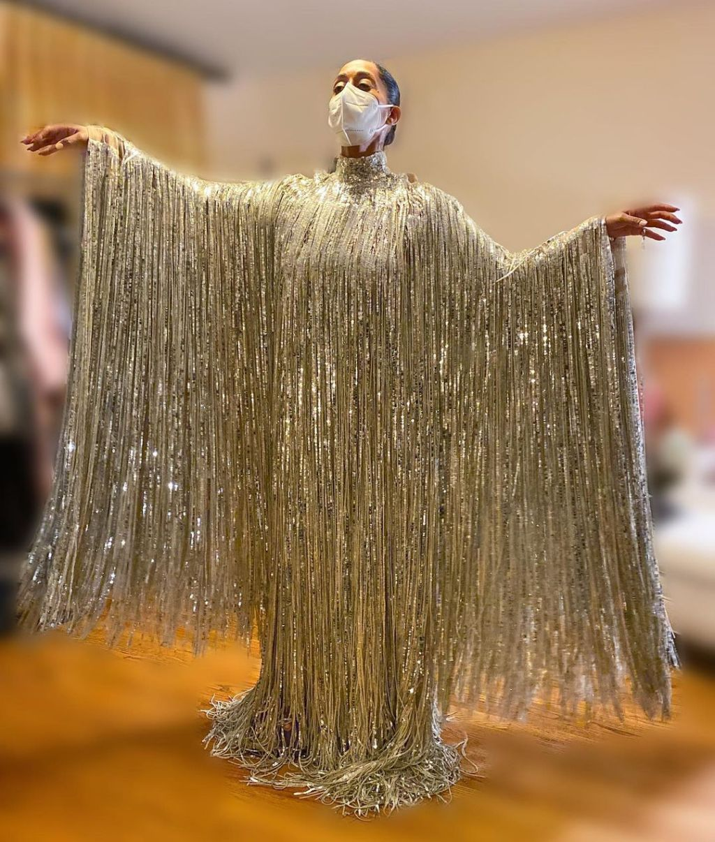 Tracee Ellis Ross Valentino Haute Couture