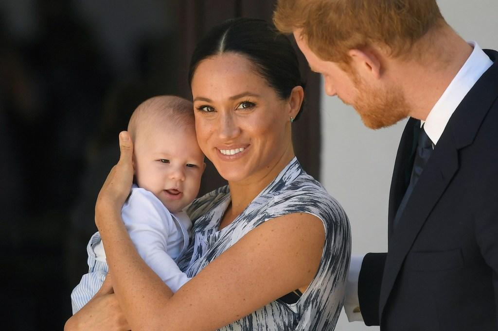 Prince Harry And Meghan Markle Reveal Their 2020 Christmas Card
