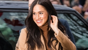 Meghan Markle Wears J Crew For Rare Public Outing
