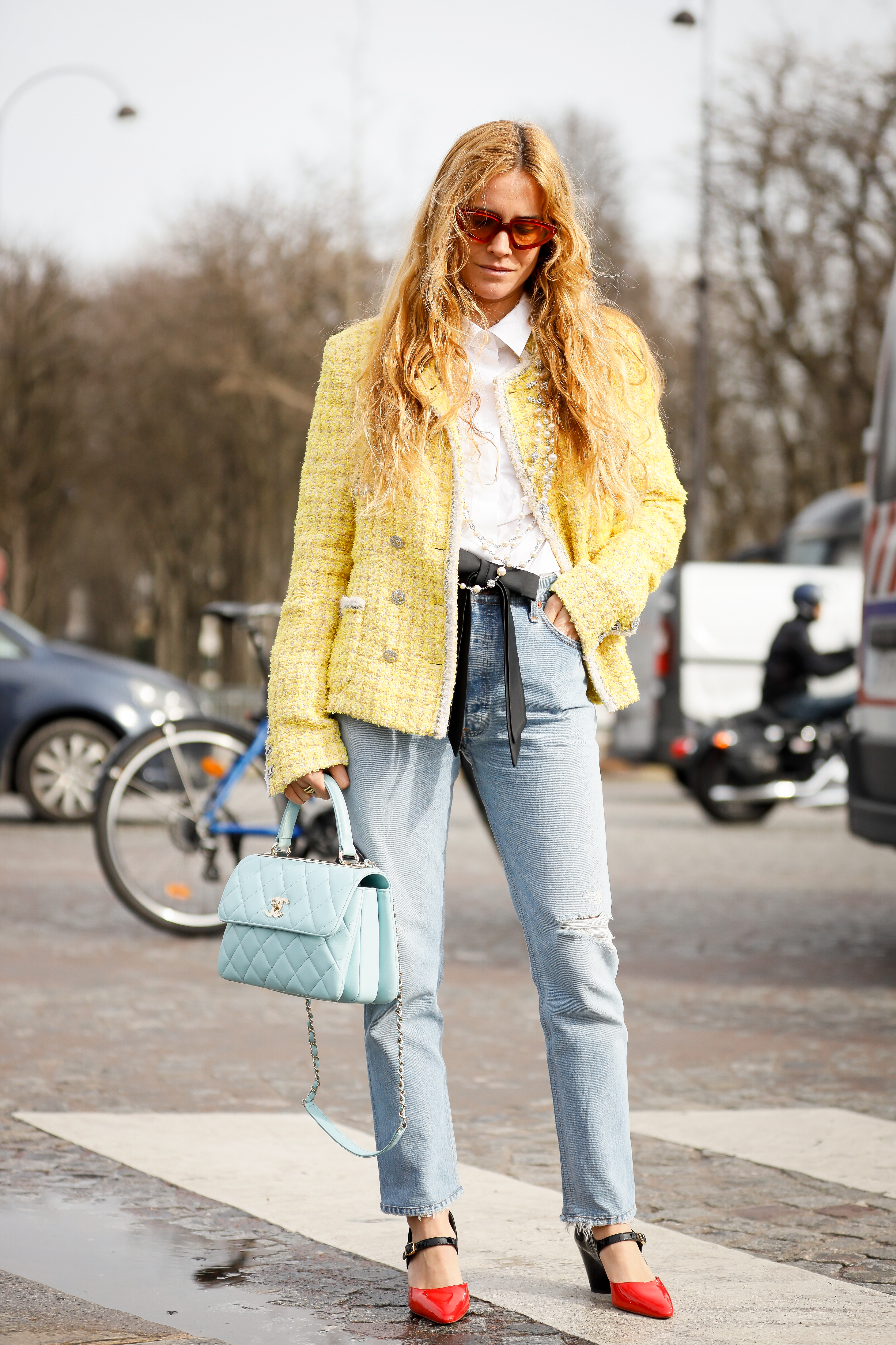 How To Wear Pantone's 'Wallpaper Yellow', According To Scandi Influencers