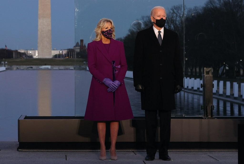 joe and jill biden inauguration eve