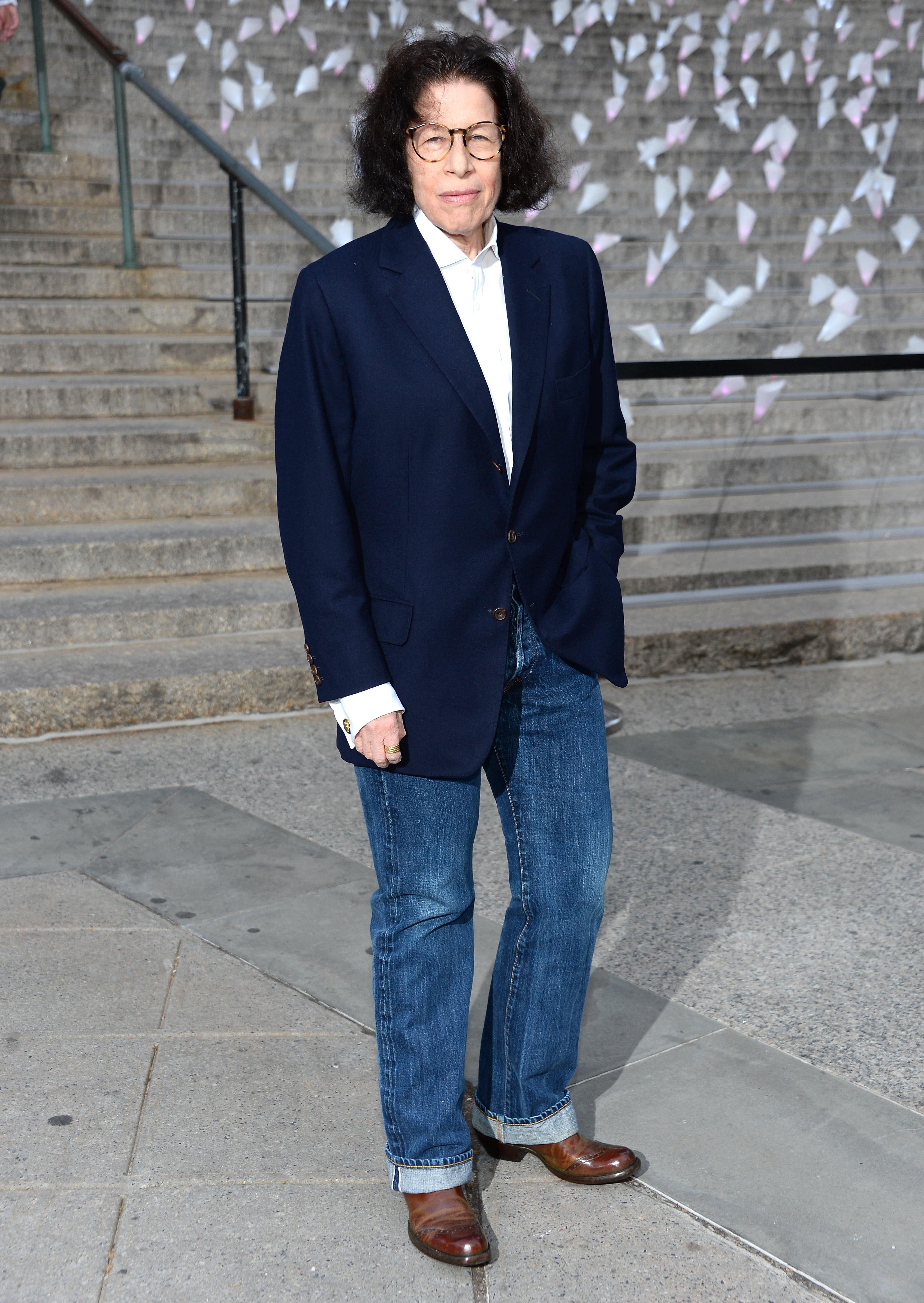 Fran Lebowitz And The Fashion Uniform