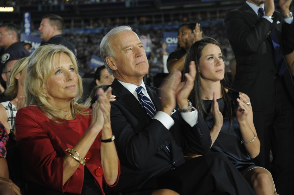 Ashley Biden Joe Biden Jill Biden