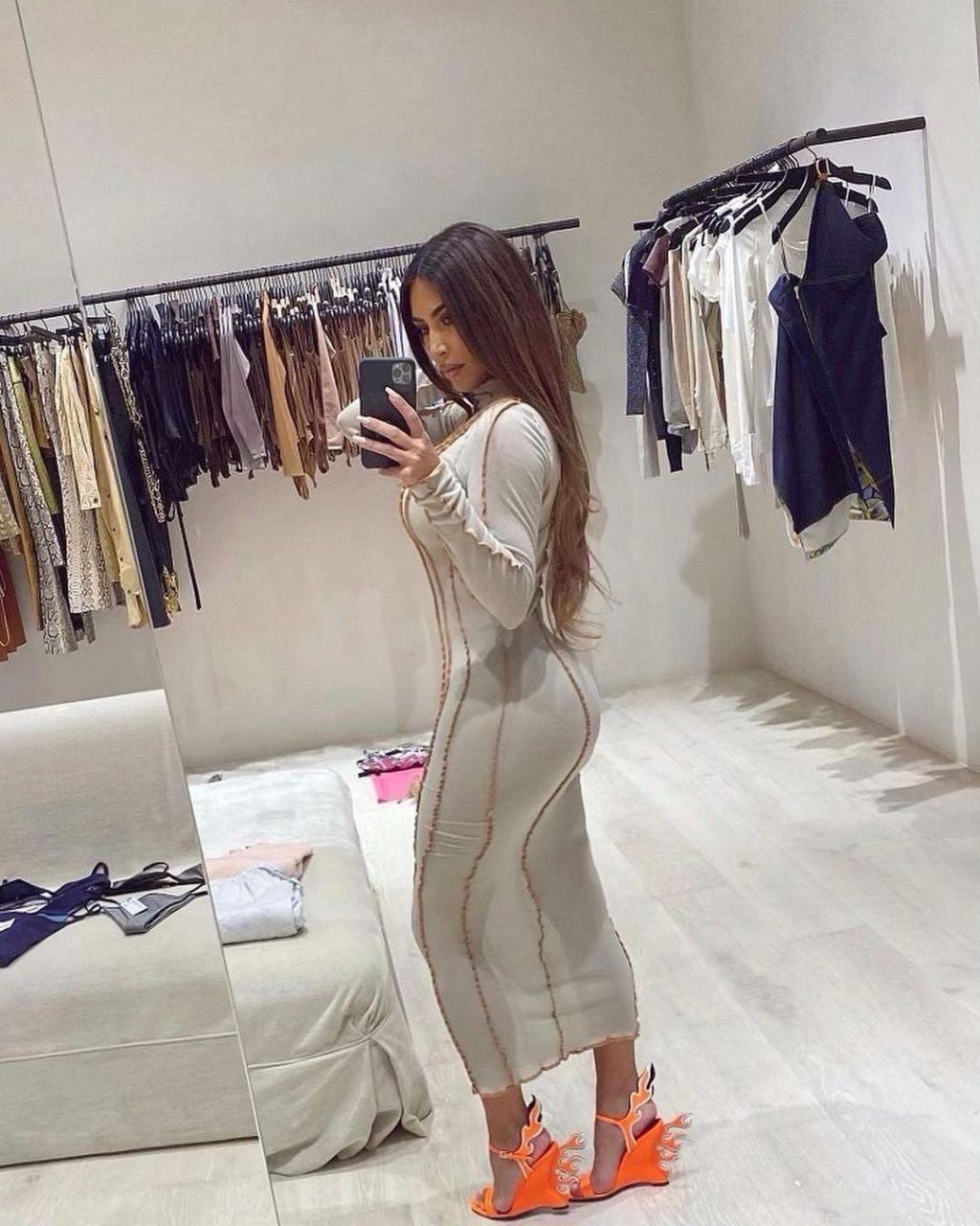 kim kardashian kanye west closet