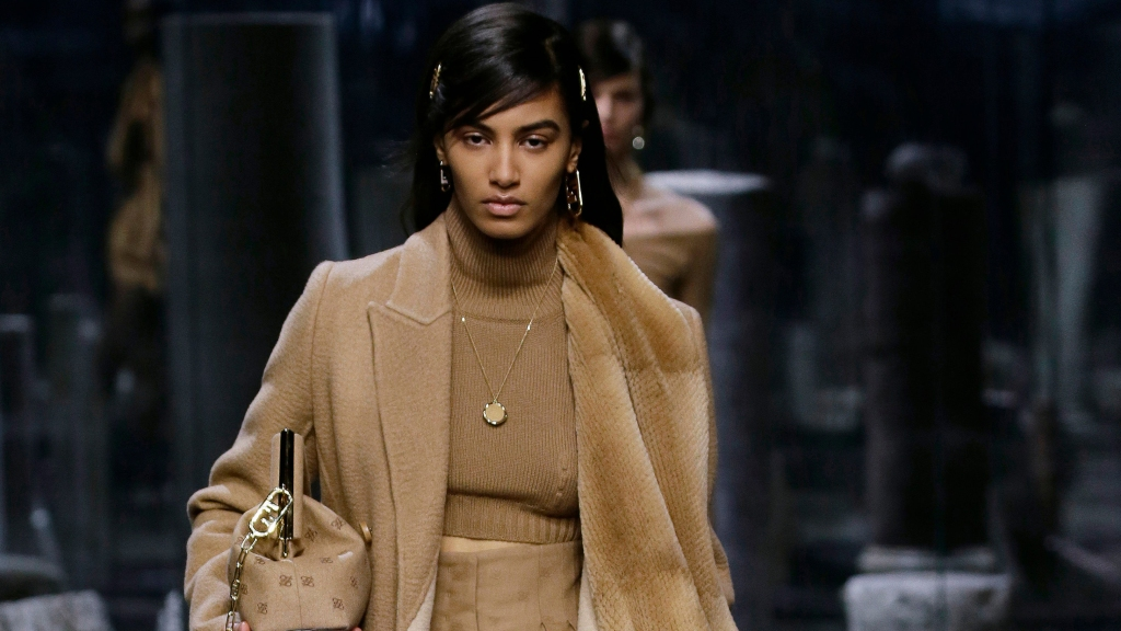 fendi fall winter 2021 beauty