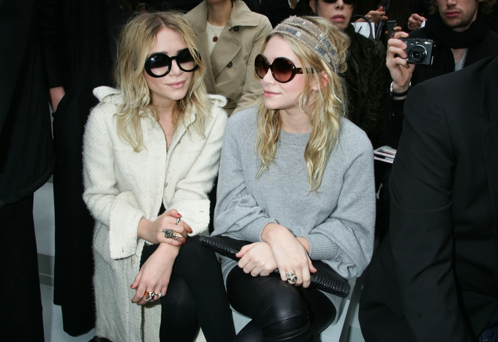 mary kate olsen chanel coat