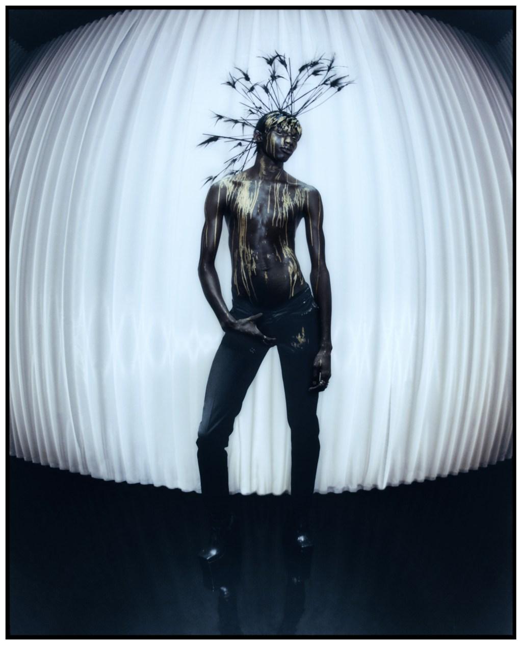 Harris Reed 2021 London Fashion Week Debut