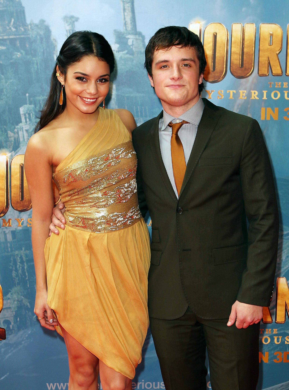 Josh Hutcherson and Vanessa Hudgens