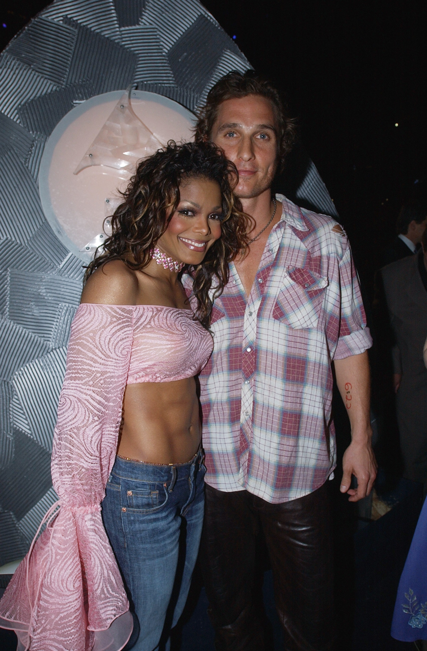Janet Jackson and Matthew McConaughey