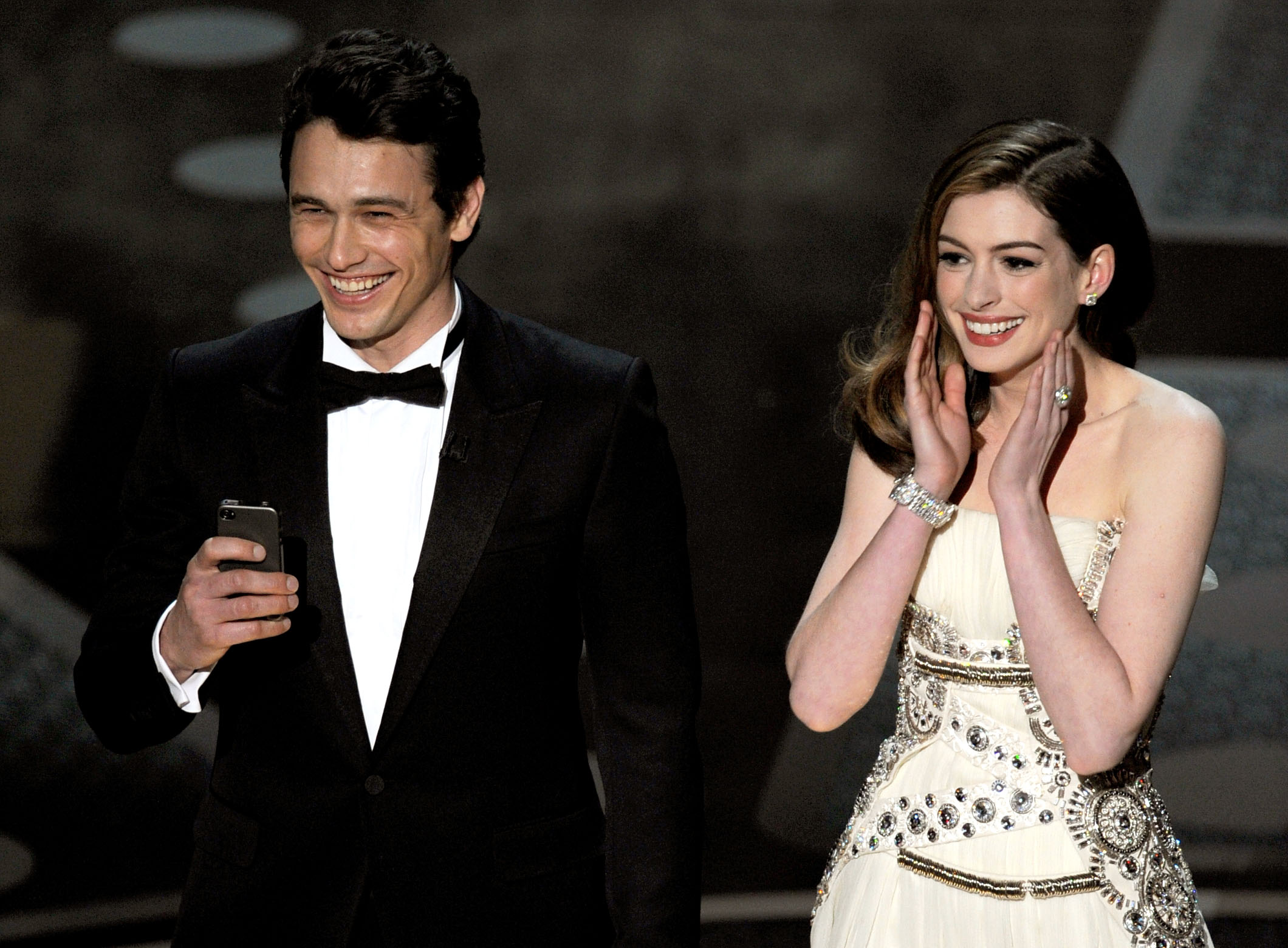 James Franco Anne Hathaway