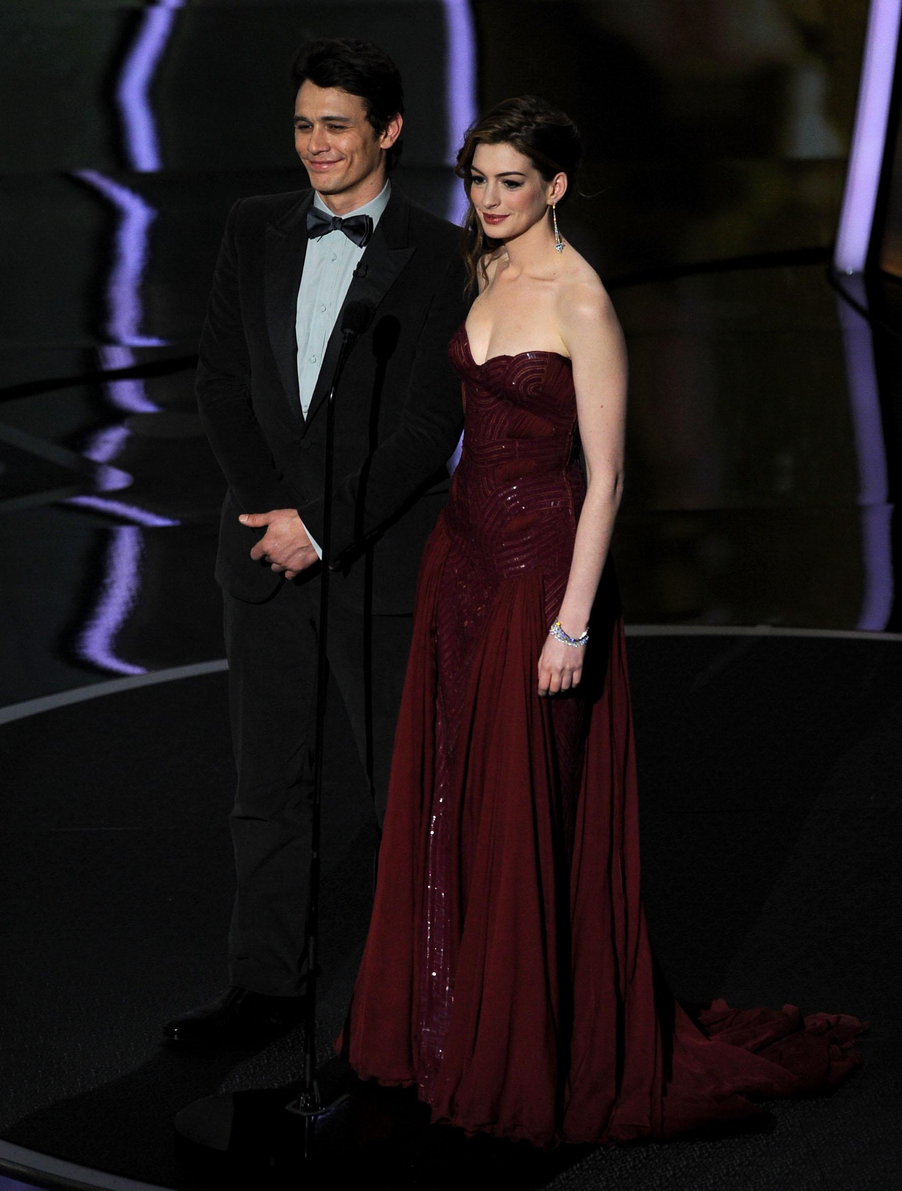 James Franco Anne Hathaway