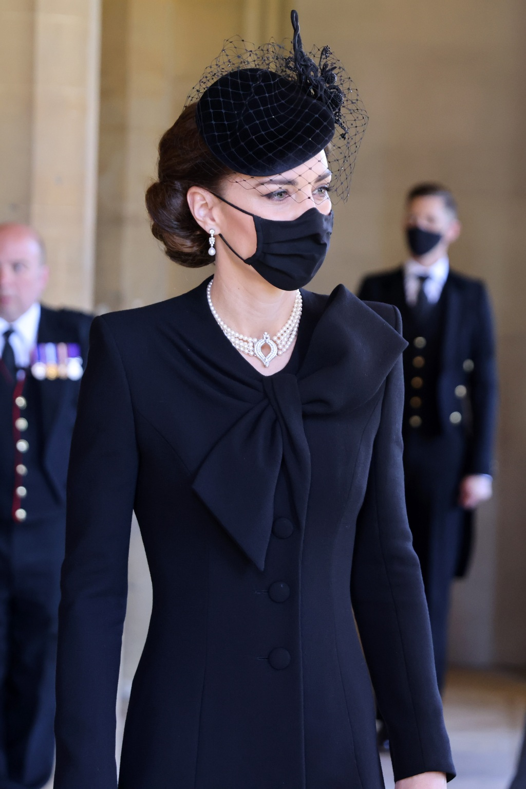 Kate Middleton Prince Philip Funeral