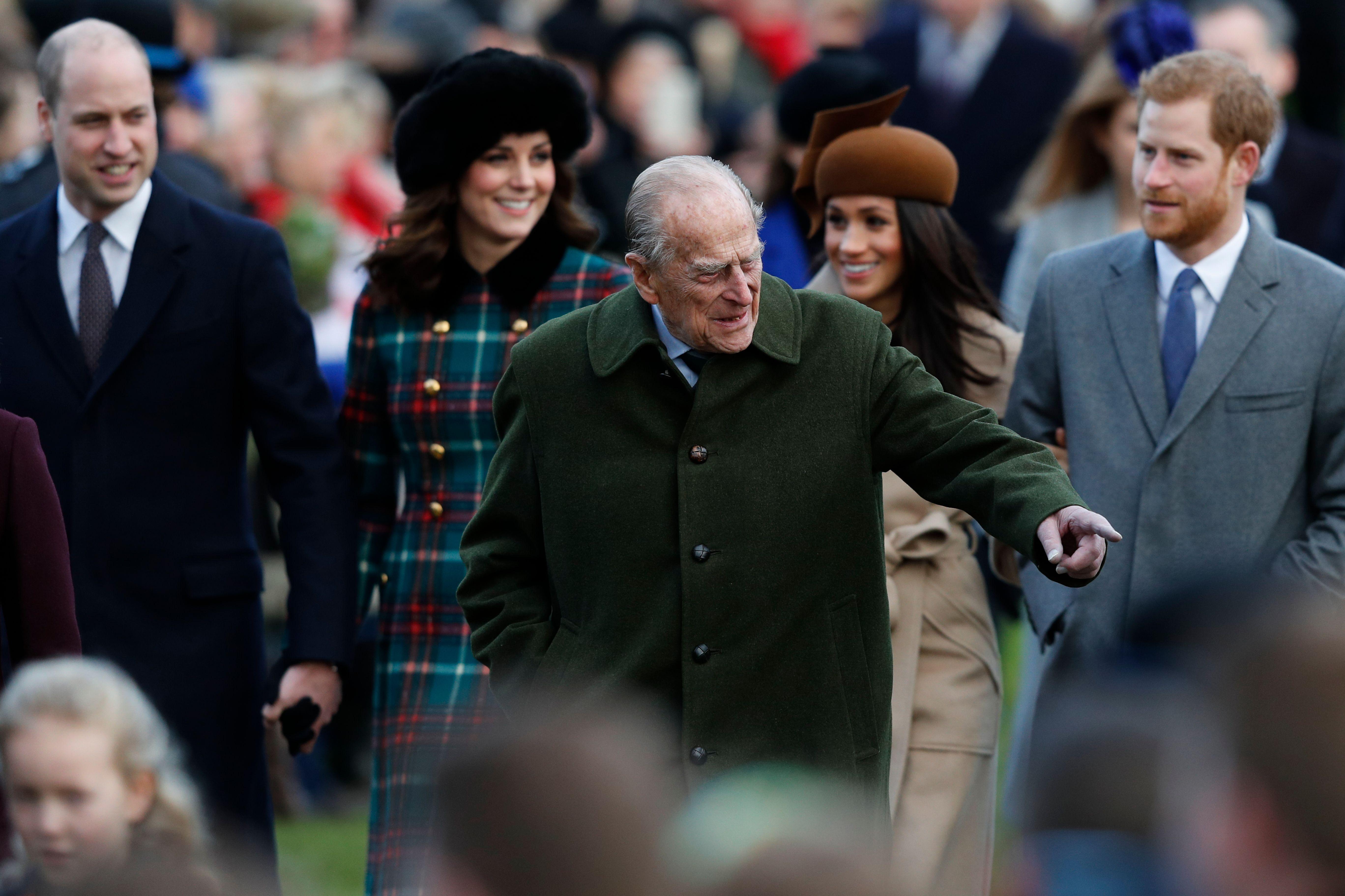 Prince Harry Prince William Prince Philip