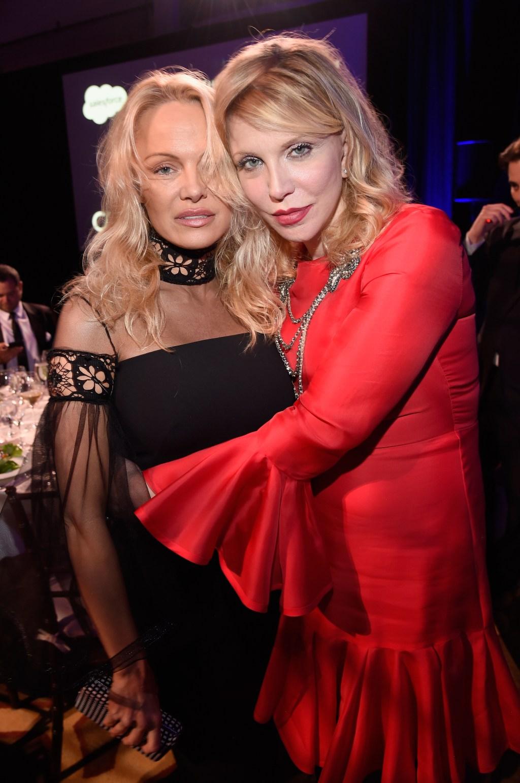 Pamela Anderson Courtney Love