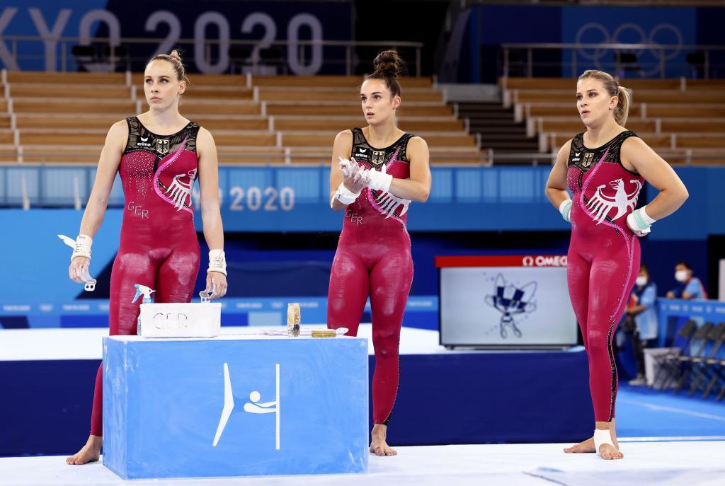 German gymnasts unitard
