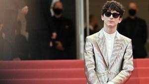Timothée Chalamet Cannes