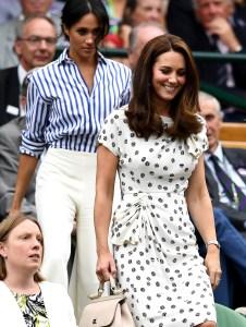 Meghan Markle Wimbledon 2018