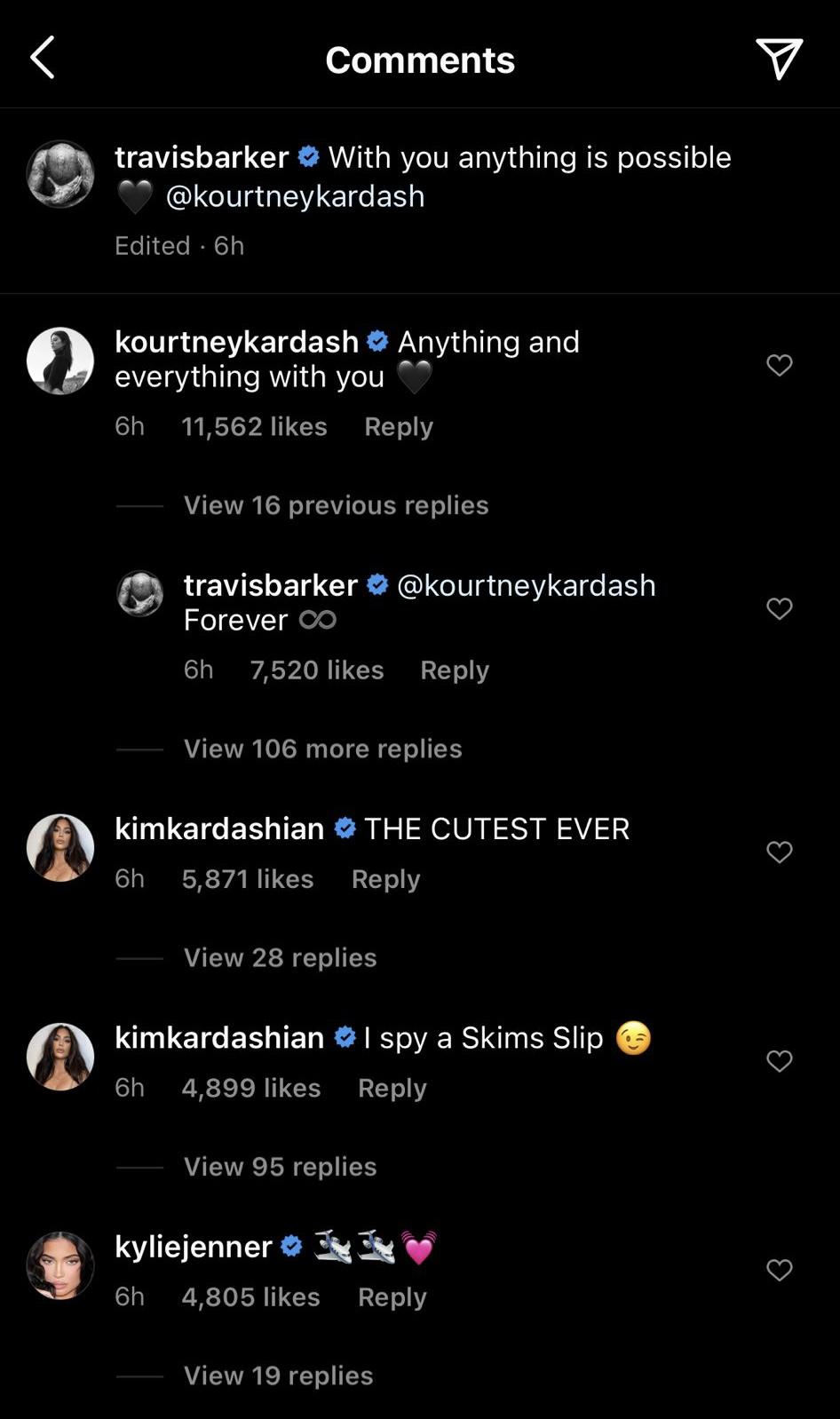 Travis Barker Kourtney Kardashian