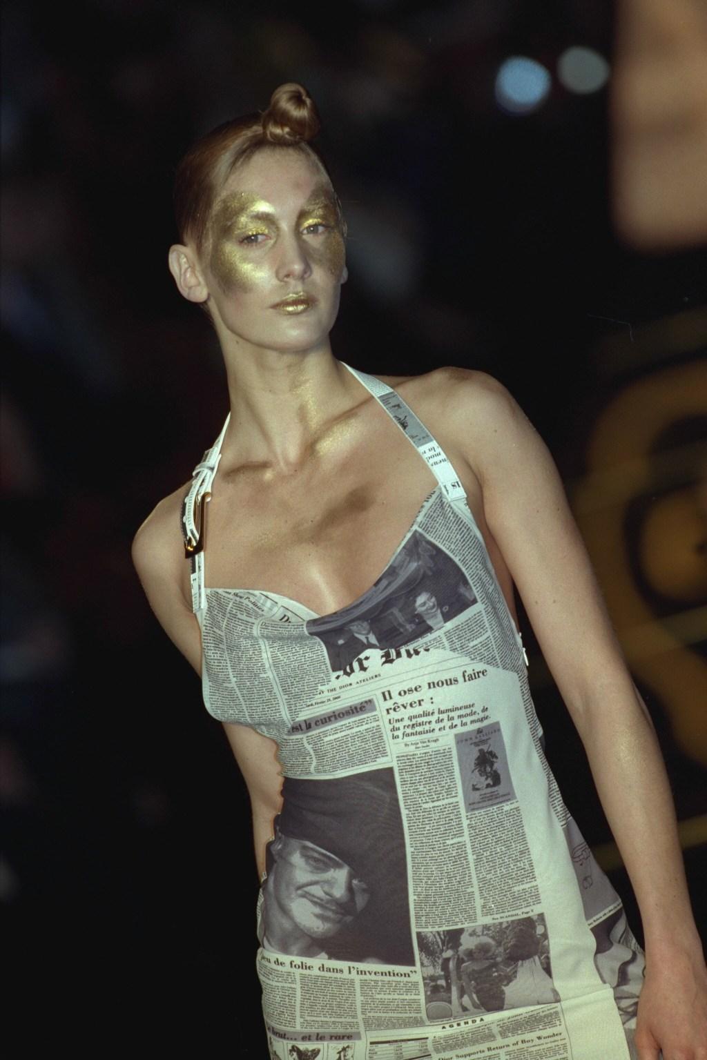 Carrie Bradshaw Sarah Jessica Parker Dior archive