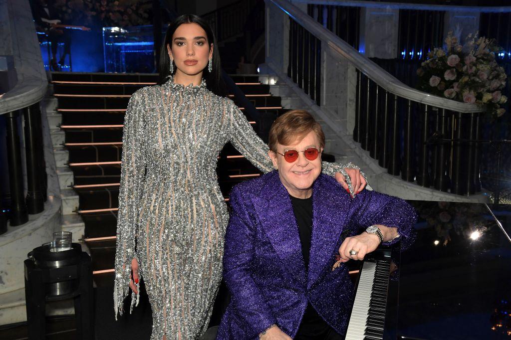 Dua Lipa Elton John