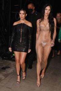 Kourtney Kardashian Megan Fox