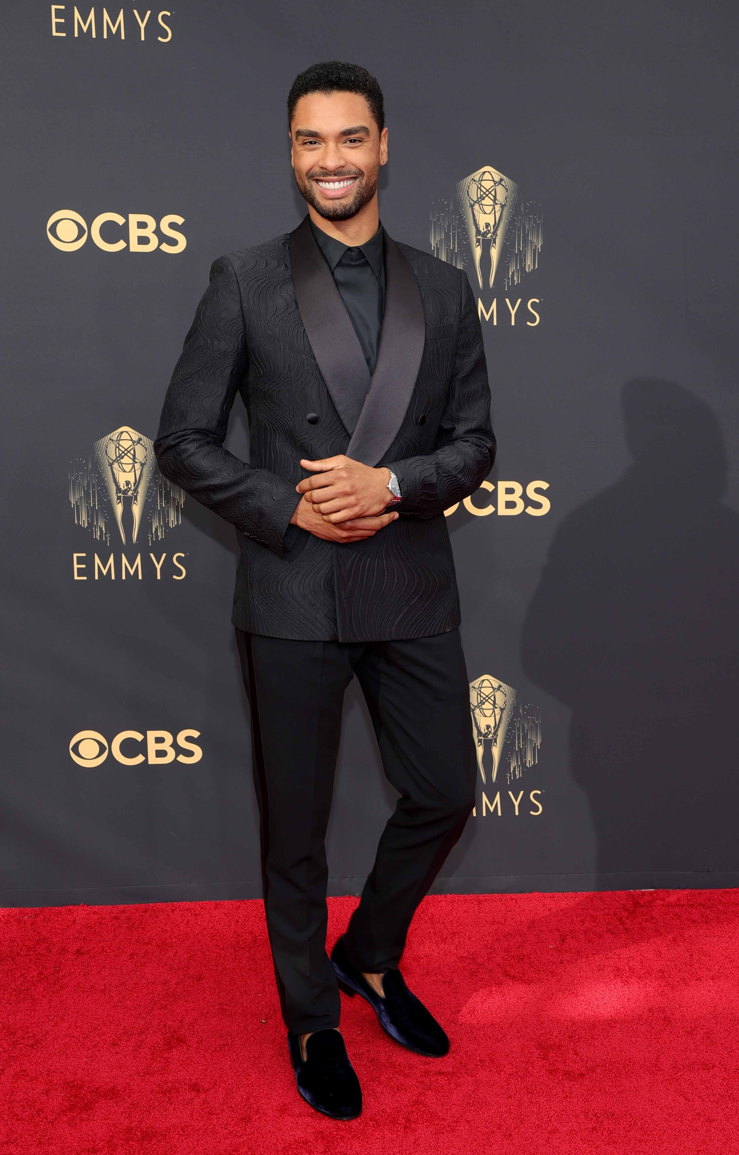 Rege-Jean Page, Emmy Awards, Armani