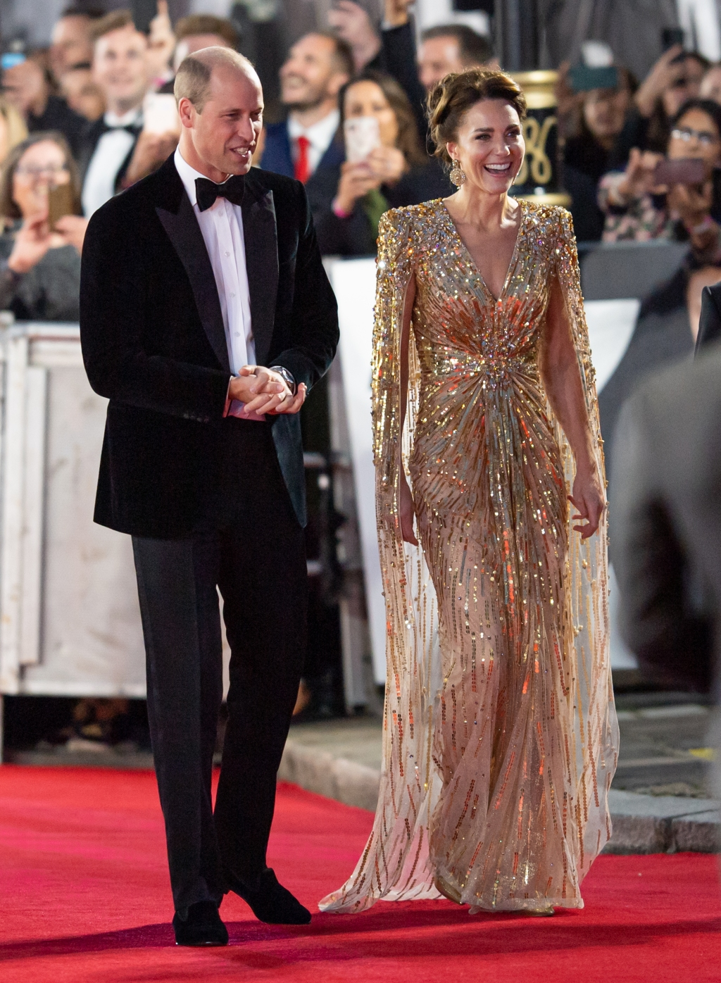 Kate Middleton No Time To Die premiere