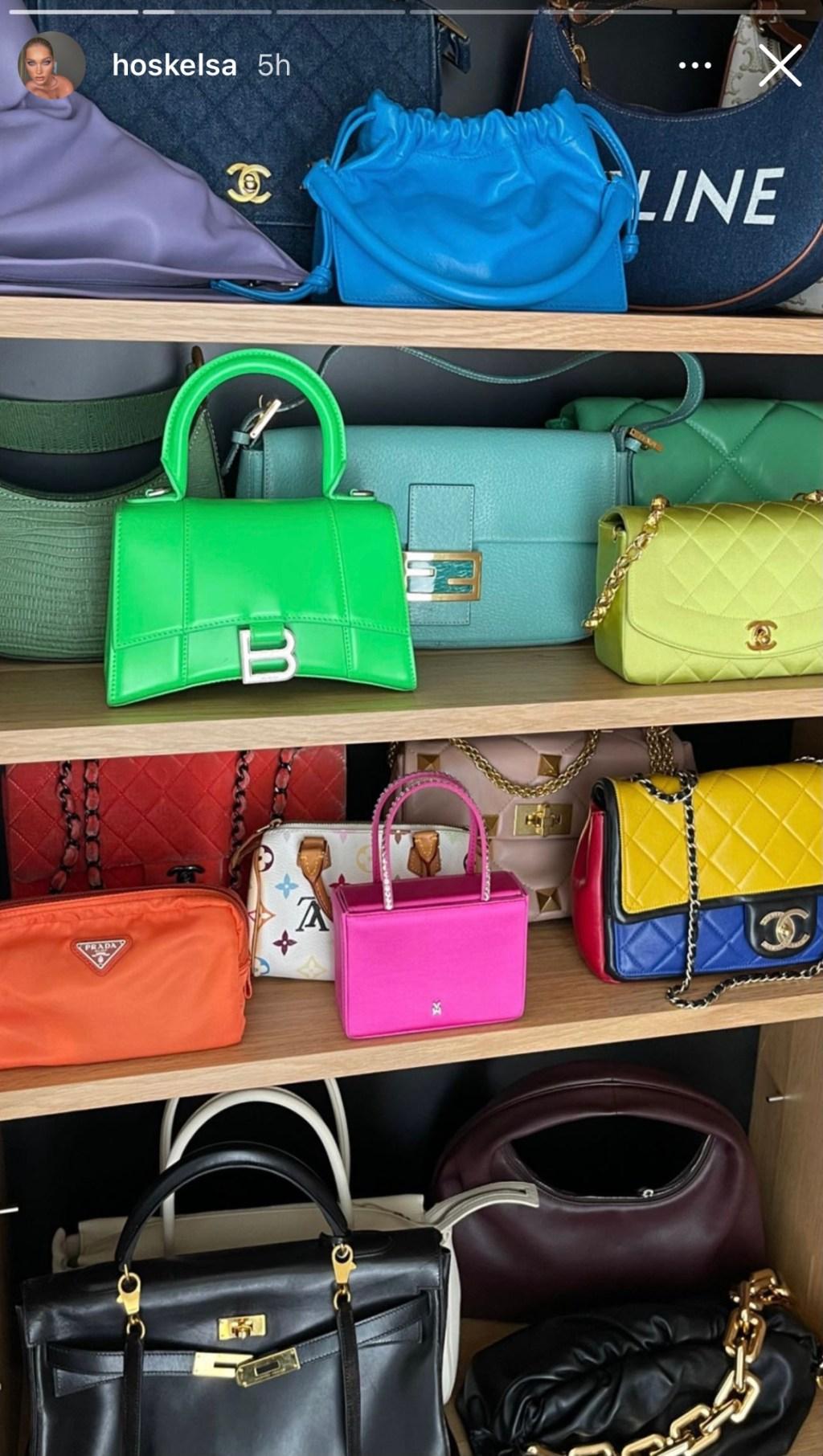 Elsa Hosk bag collection