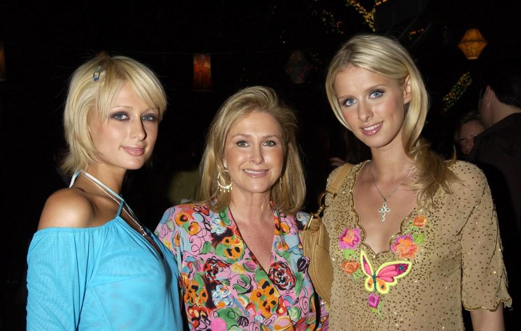 Kathy Hilton Paris Hilton