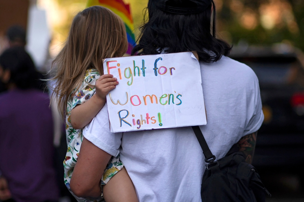 abortion rally Jennifer Lawrence Amy Schumer